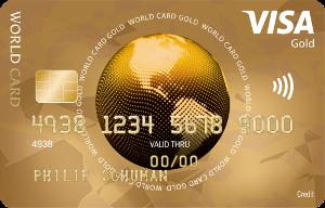 ICS Visa World Gold Kreditkarte - Antragsverfahren