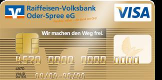 Volksbank Raiffeisenbanken Goldkarte
