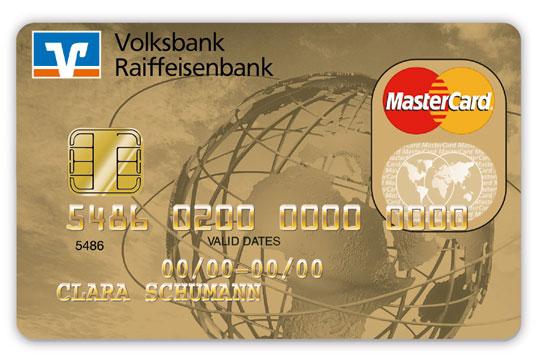 Volksbanken Raiffeisenbanken Goldkarte