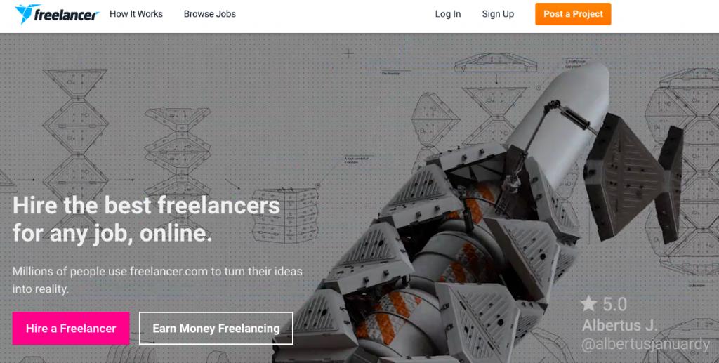 Geld verdienen bei Freelancer