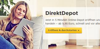 Online Depot der Commerzbank
