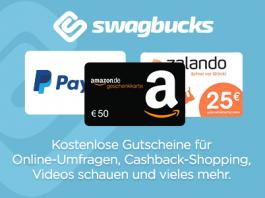 Swagbucks Cashback