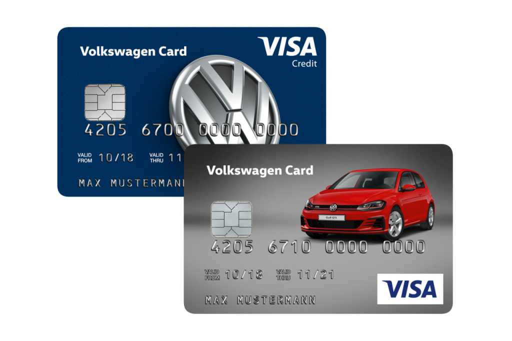 Volkswagen Visa Kreditkarte