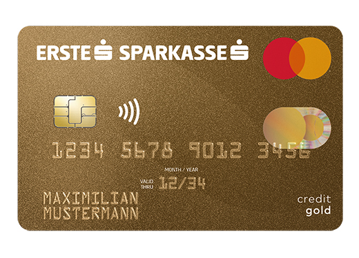 Sparkasse Mastercard Gold