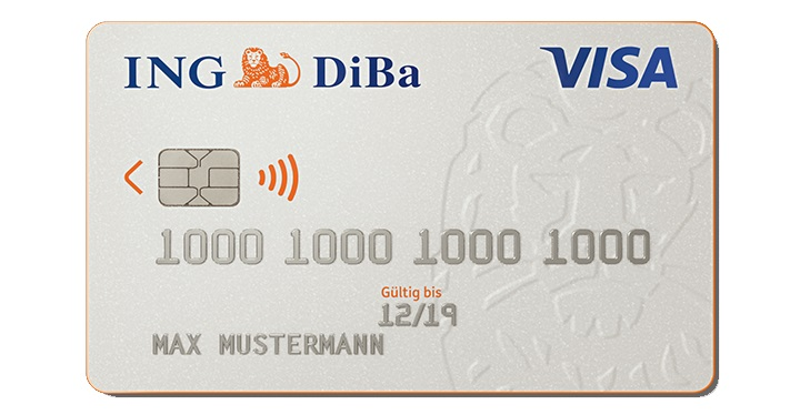 So können Sie die ING DiBa Kreditkarte beantragen