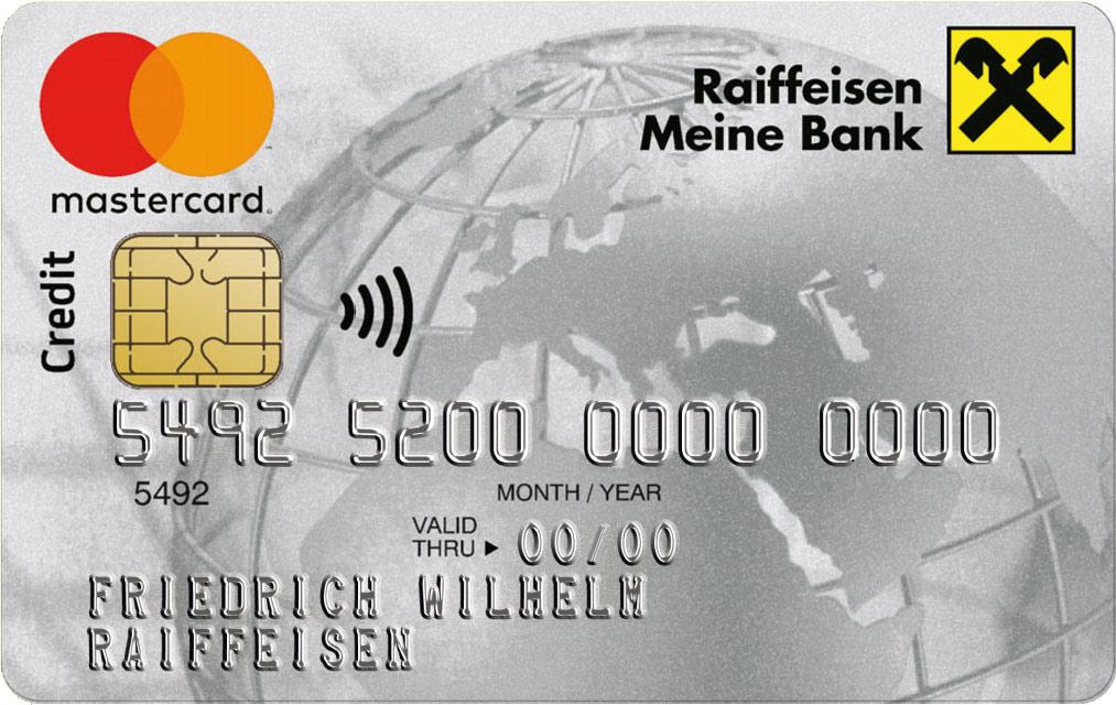 Raiffeisenbank Kreditkarte