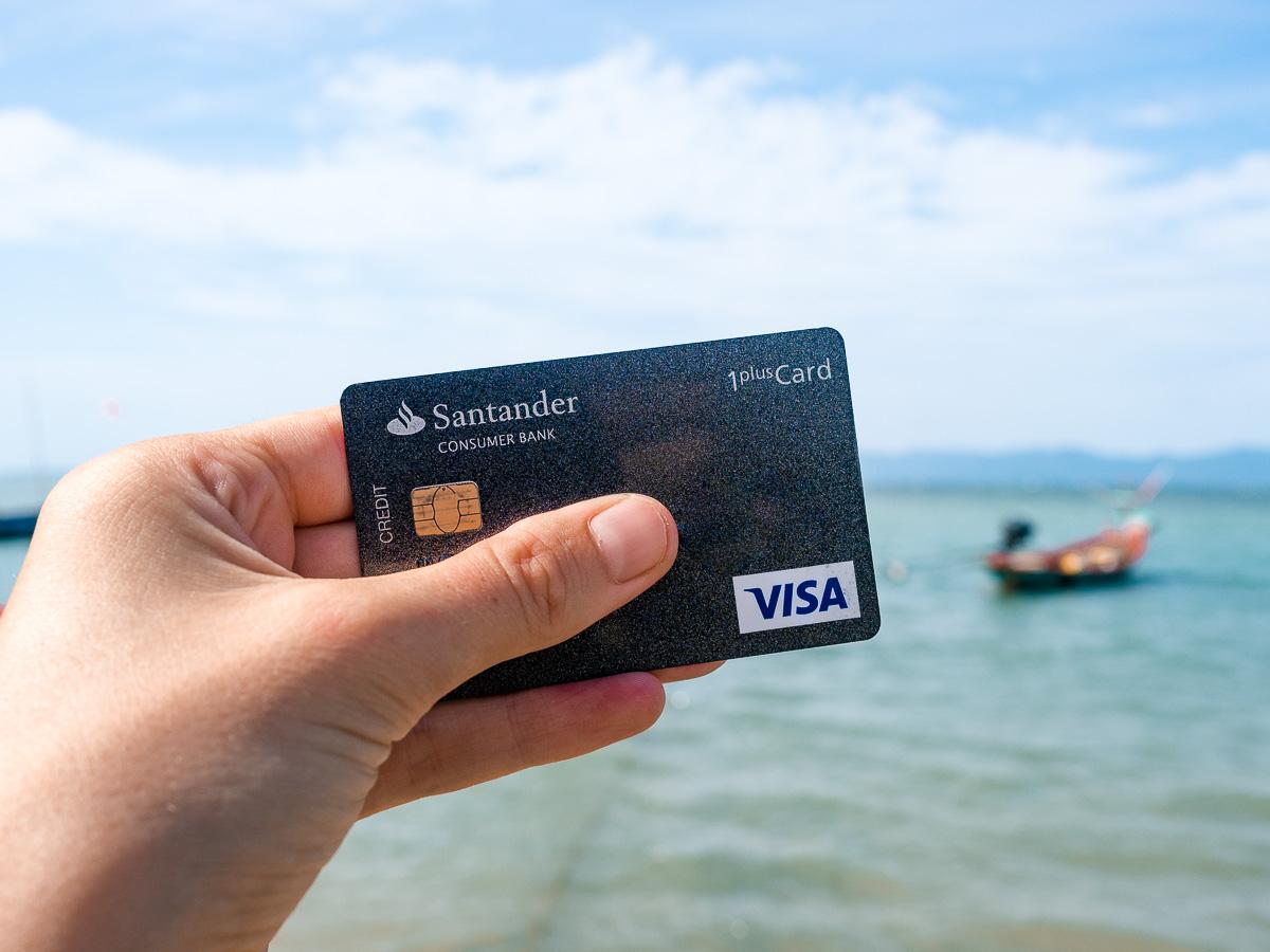 So können Sie die Santander 1plus Visa Card beantragen