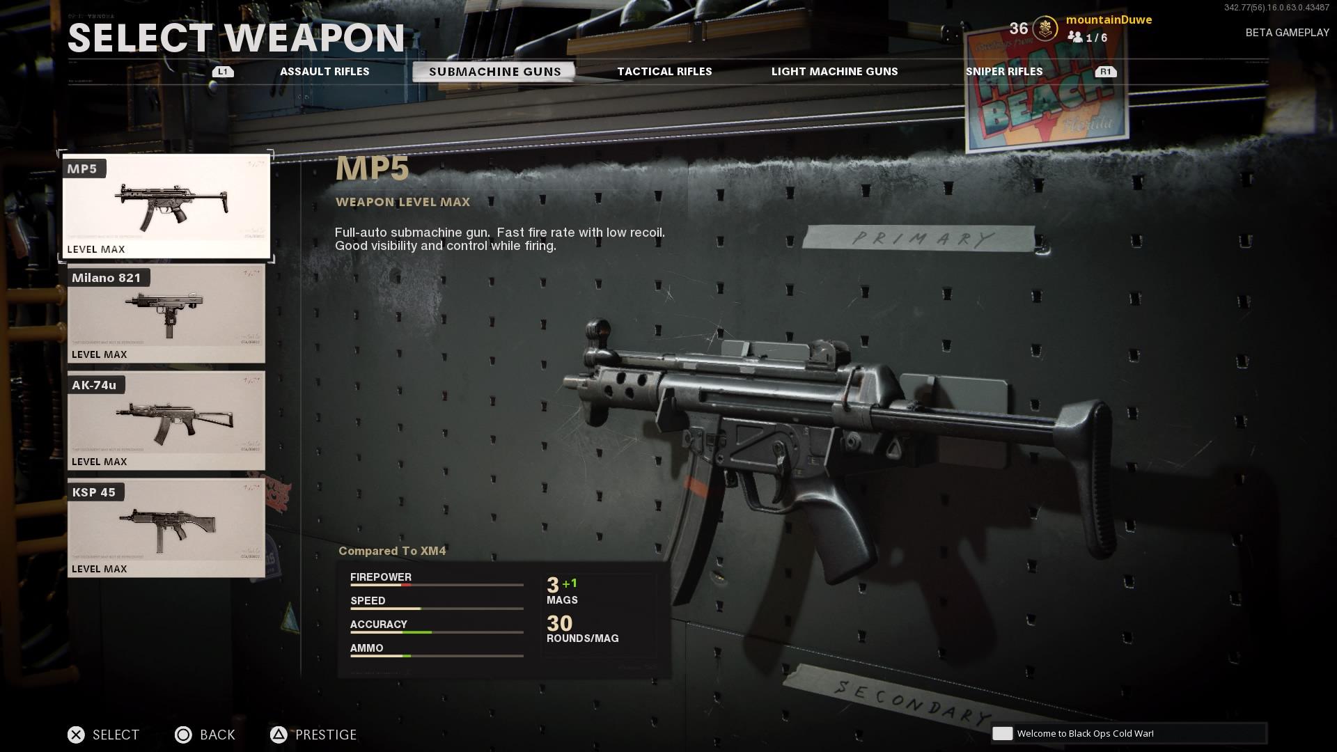 Call Of Duty: Cold War - Hier Finden Sie Die Besten MP5-Aufsätze