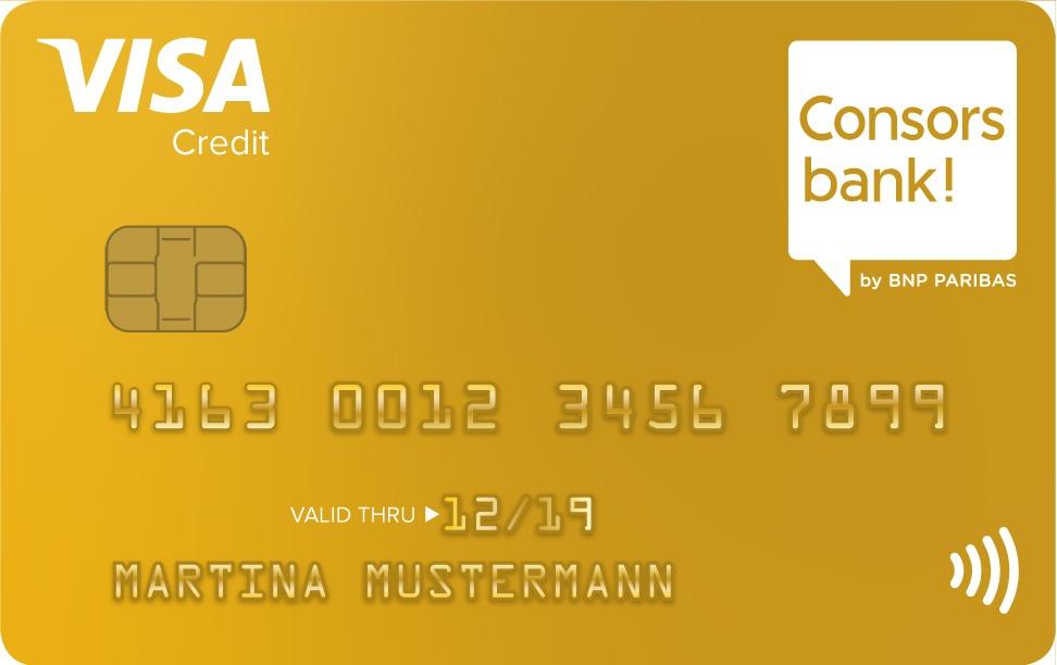 Consorsbank Visa Gold Kreditkarte - Alle Infos Zur Beantragung & Den Konditionen