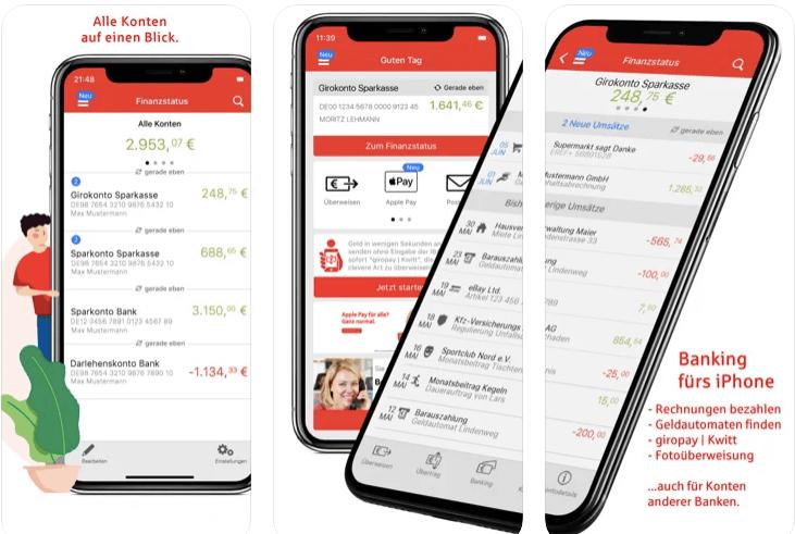 Die Sparkasse Banking App - Alle Infos Zu Den Funktionen & Zum Download