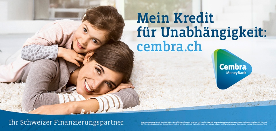 Cembra Money Bank Barkredit - Alle Infos Zur Beantragung & Den Konditionen