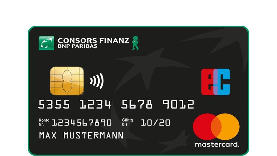 So Können Sie Die Consors Finanz Mastercard Beantragen
