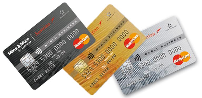 Hier finden Sie alles Wissenswerte über die Austrian Miles and More Kreditkarte