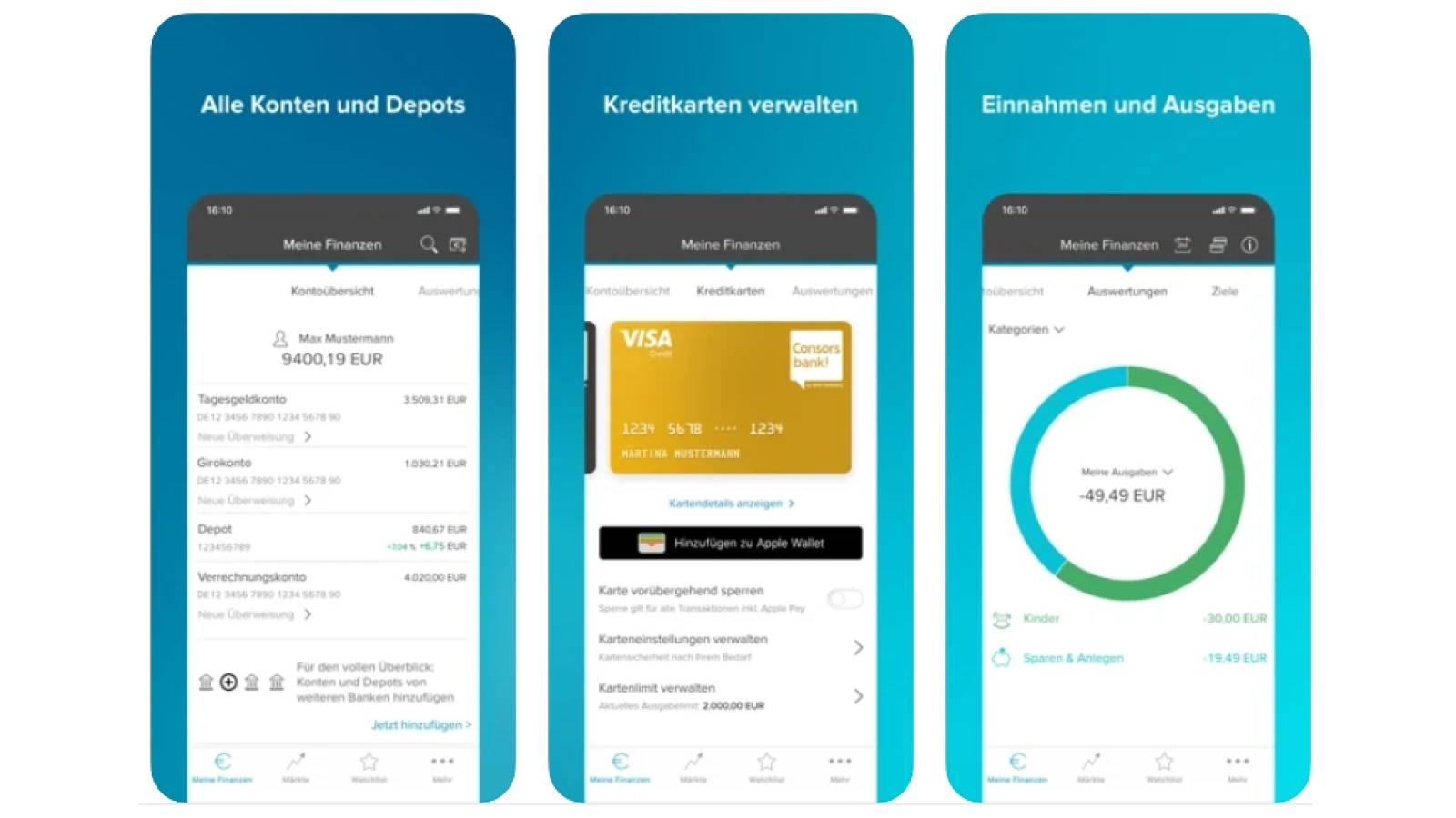 Consorsbank Visa Classic Kreditkarte - Alle Infos Zu Den Konditionen & Zur Beantragung