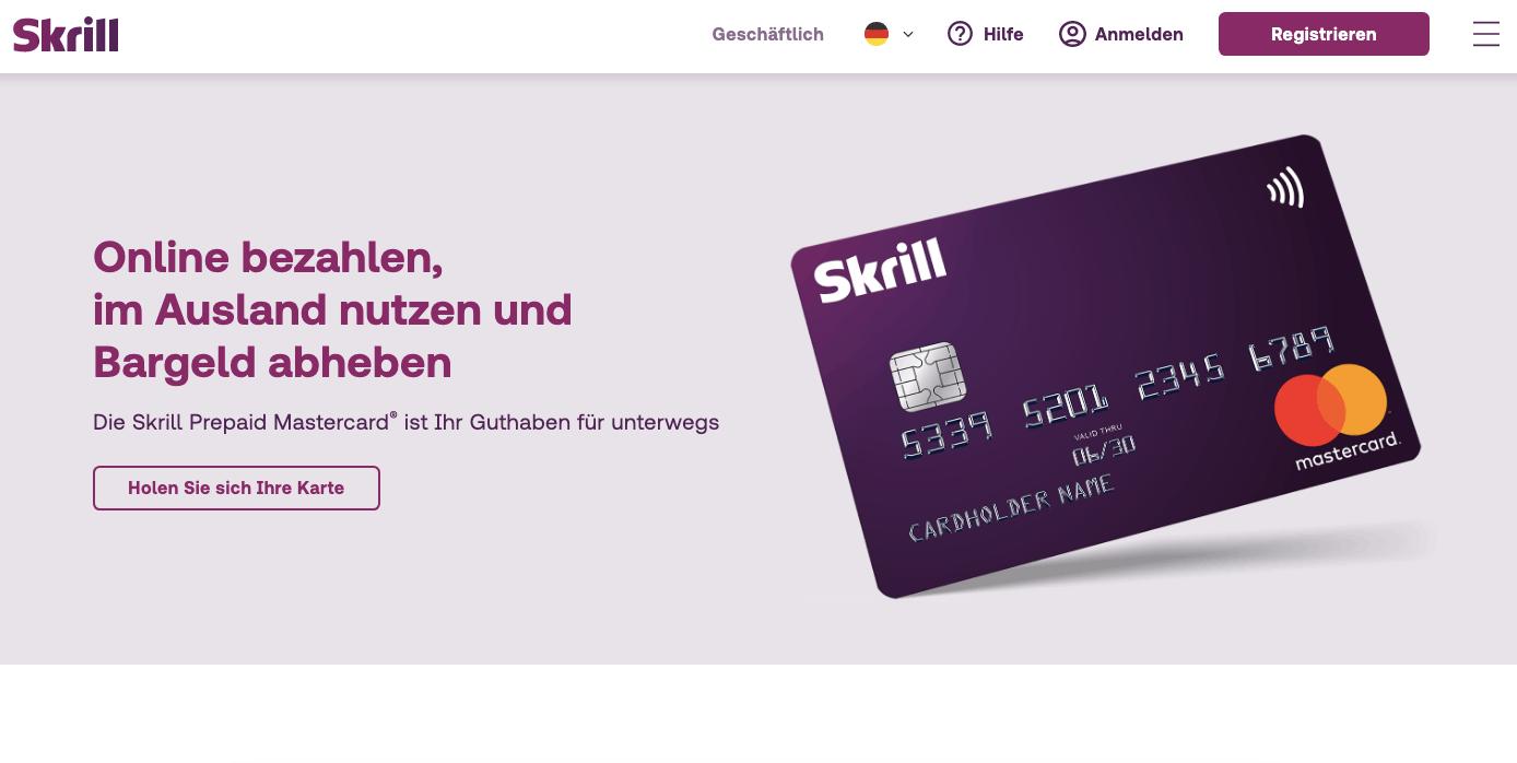 Skrill Prepaid Mastercard - Alle Infos Zu Den Konditionen & Zur Beantragung