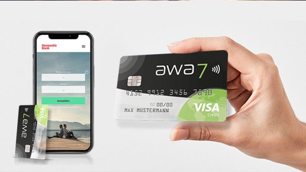 awa7 Visa Kreditkarte - Alle Infos Zu Den Konditionen & Zur Beantragung
