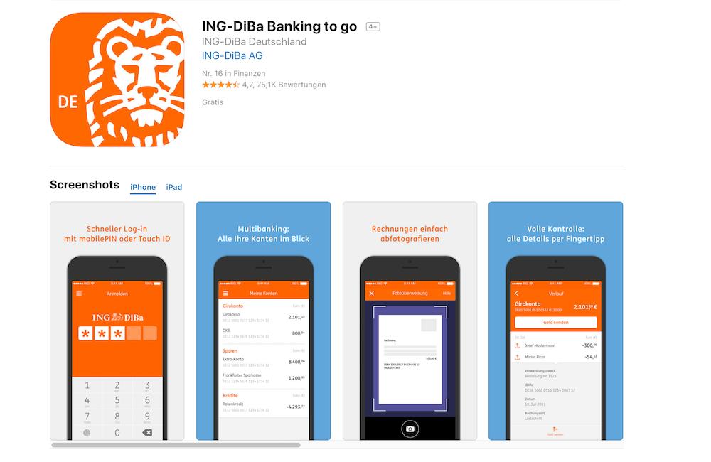 So Funktioniert Die ING DiBa App - Infos & Tipps