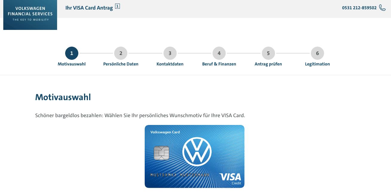 Volkswagen Visa Kreditkarte - Alle Infos Zu Den Konditionen & Zur Beantragung
