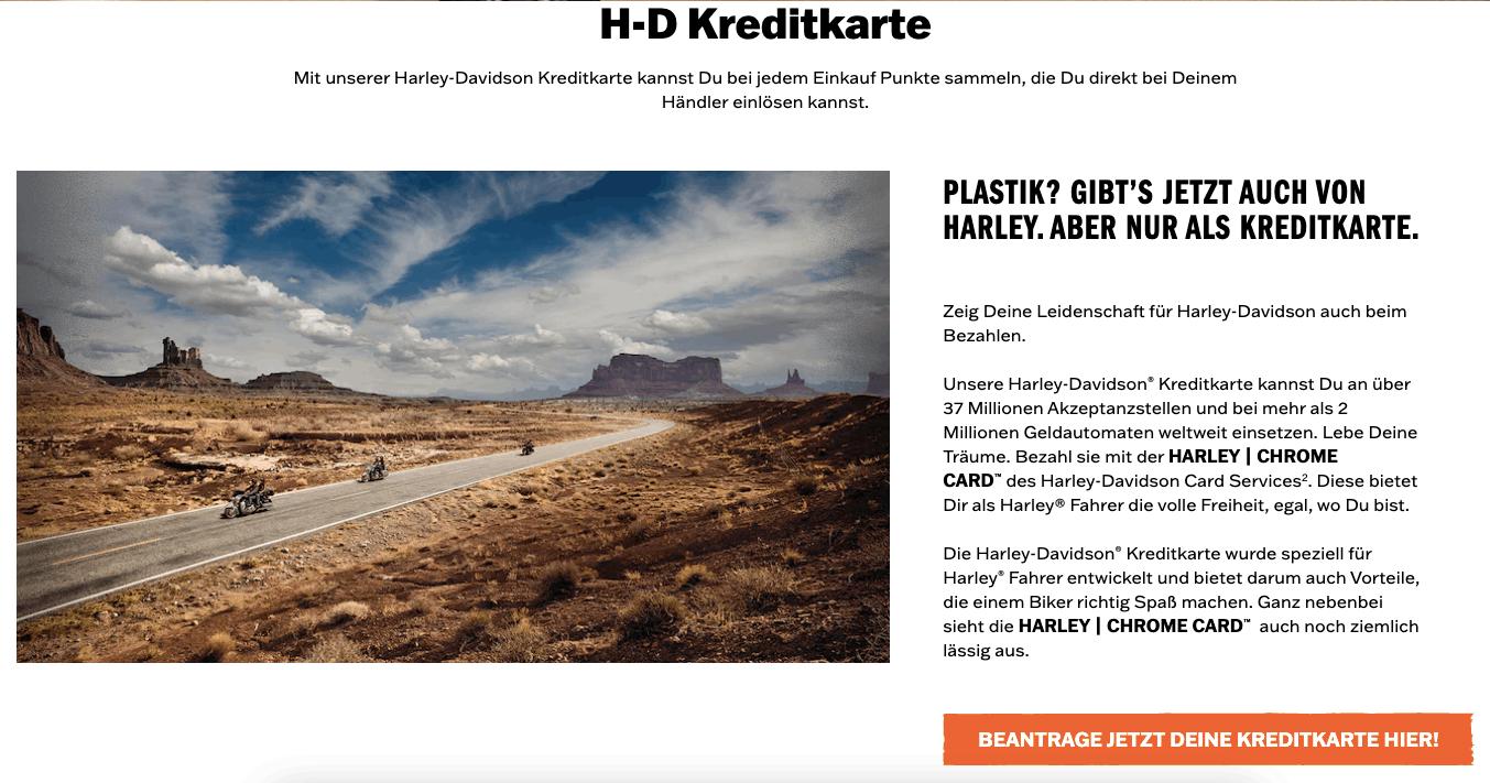 Harley Chrome Card Kreditkarte - Alle Infos Zu Den Konditionen & Zur Beantragung