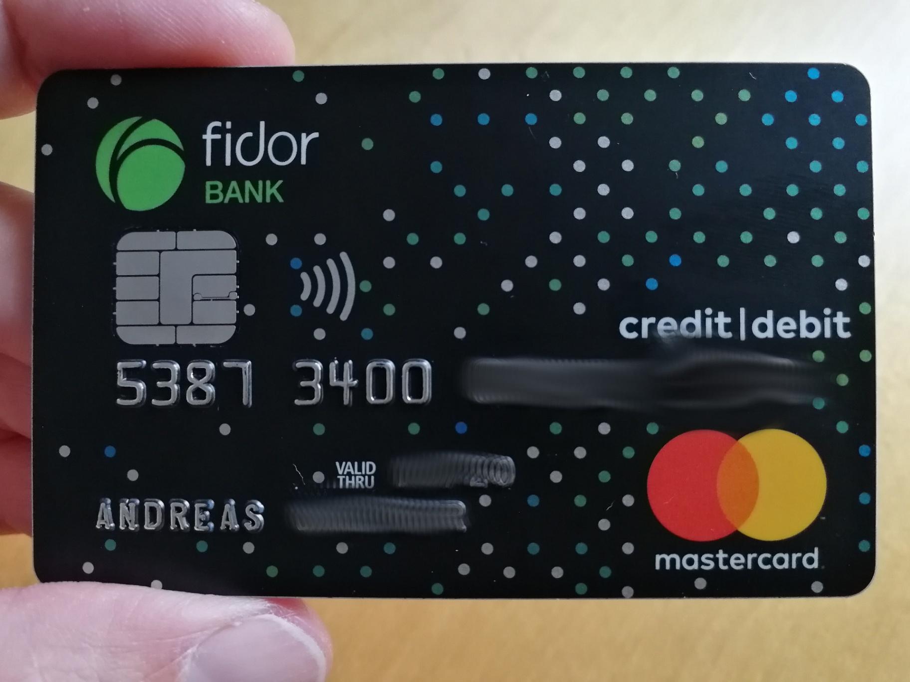 So Können Sie Die Fidor SmartCard Debitkarte - Infos & Tipps