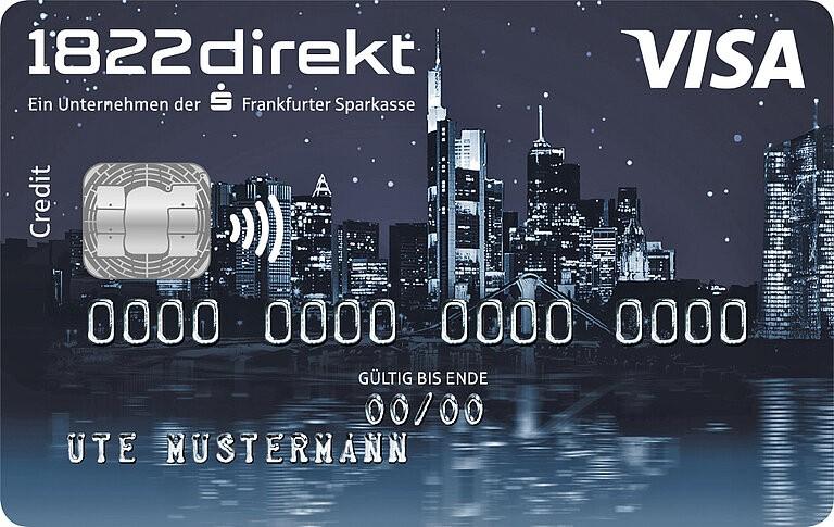 So Können Sie Die 1822direkt Visa Classic Kreditkarte Beantragen - Infos & Tipps
