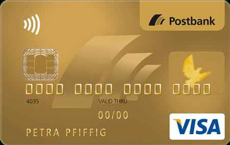 Postbank Visa Gold Kreditkarte - Alle Infos Zu Den Konditionen & Zur Beantragung
