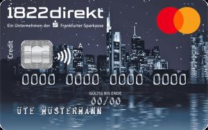 1822direct Mastercard Standard - Alle Infos Zur Beantragung & Den Konditionen